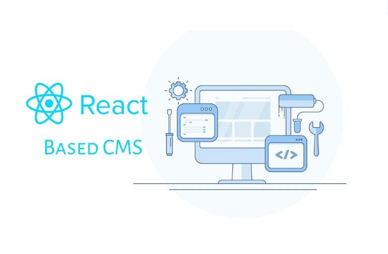 React Based CMS